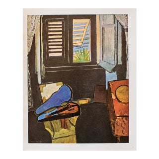 "1940s Henri Matisse ""Interior at Nice"" Original Period Swiss Lithograph For Sale"