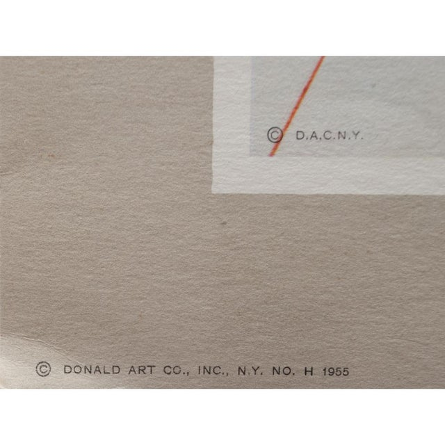 1955 Dali Fruits Original Period Lithograph From the Mrs. Albert D. Lasker Collection For Sale - Image 9 of 13
