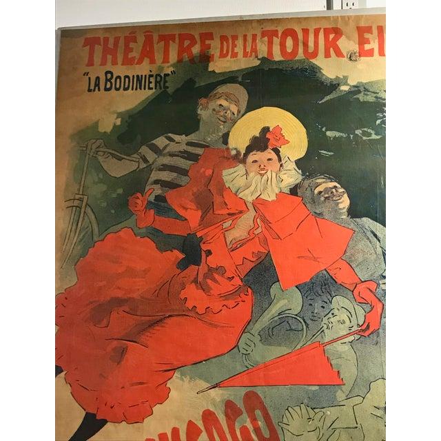 'La Bodinière' Théatre De La Tour Eiffel Original Art Nouveau Poster For Sale In New York - Image 6 of 11