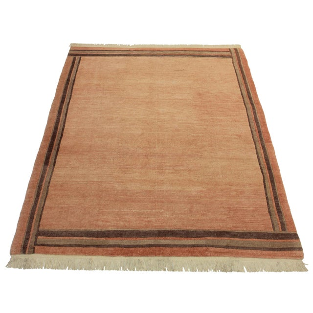 """RugsinDallas Hand Knotted Wool Rug - 6'5"""" X 8'2"""" - Image 2 of 2"""