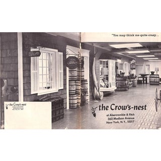 Abercrombie & Fitch The Crow's-Nest 1969 For Sale