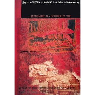 Robert Rauschenberg, Roci: Venezuela, 1985 Offset Lithograph, Signed For Sale