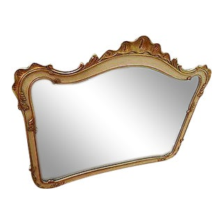 Widdicomb Venetian Gilt Accented French Style Mirror For Sale