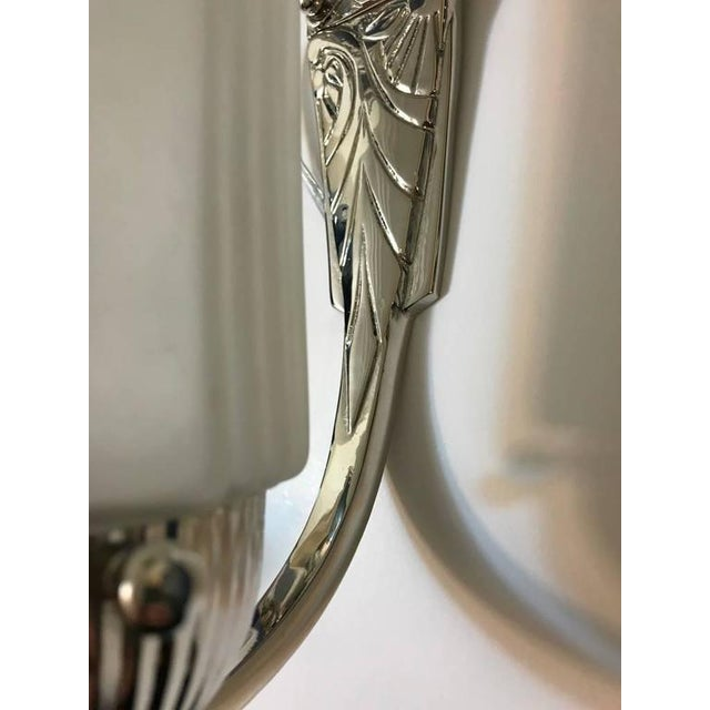 French Art Deco Sconces with Skyscraper Motif - A Pair - Image 7 of 10