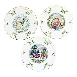 Royal Doulton Christmas Plates - Set of 3 For Sale
