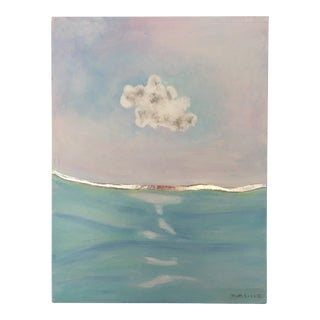 Cloud of Hope With Silver Line Painting For Sale