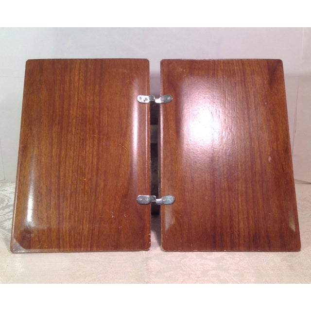 Mid-Century Modern Vintage Folding Serving Tray - Image 6 of 10