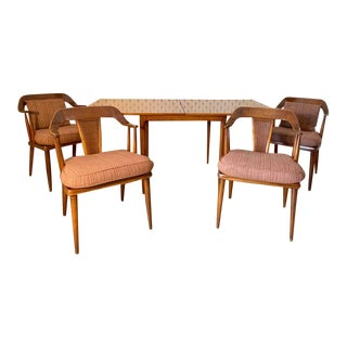 1950s Mid-Century Modern Tomlinson Dining Set - 5 Pieces For Sale