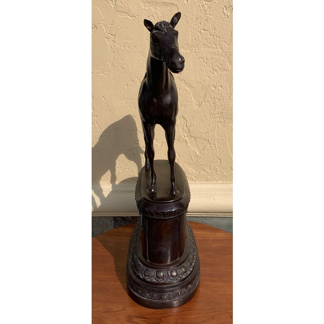 Maitland - Smith Maitland Smith Equestrian Bronze For Sale - Image 4 of 10