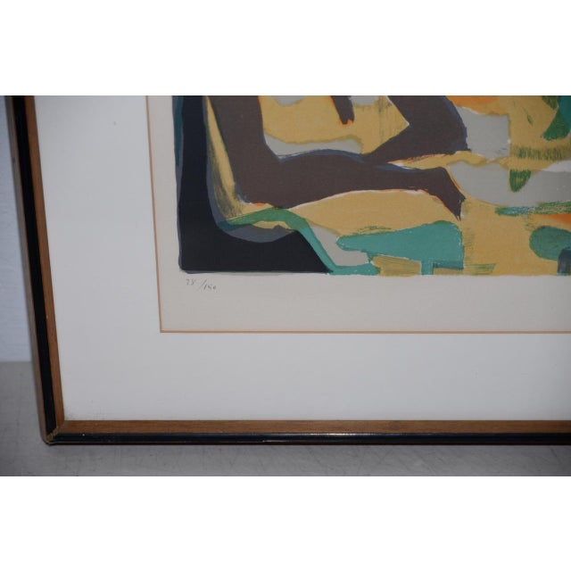 Marcel Mouly (French, 1918-2008) Vintage Lithograph Signed / Numbered C.1980s For Sale In San Francisco - Image 6 of 10