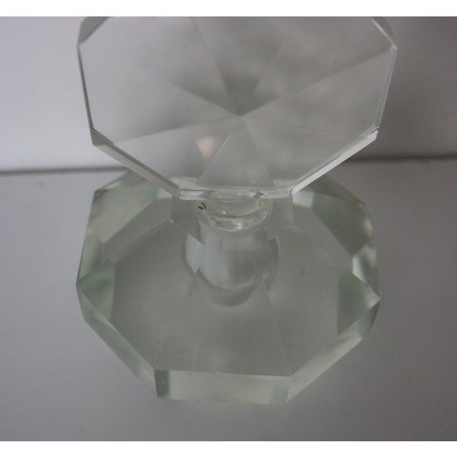 Art Deco Crystal Perfume Bottle - Image 3 of 4