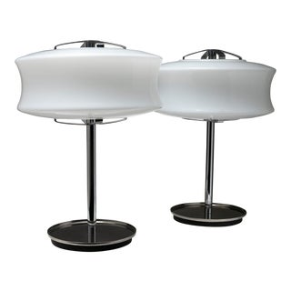 """Pair of """"Directional"""" Table Lamps by Gaetano Scolari for Ecolight For Sale"""