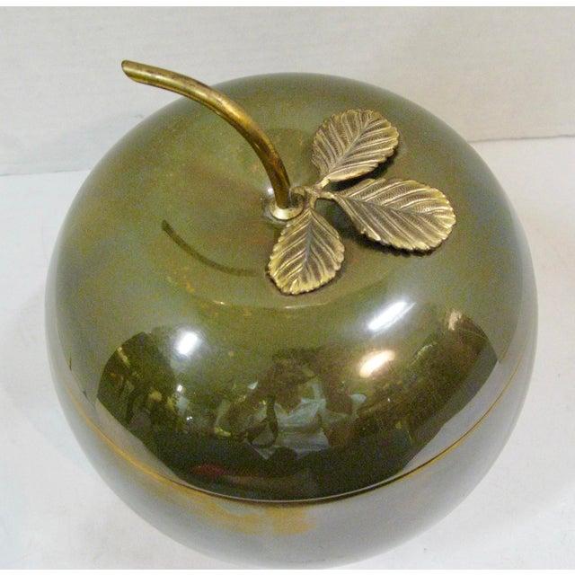 1940s Art-Deco Apple Ice Bucket by Apollo Studio, 1920 For Sale - Image 5 of 11