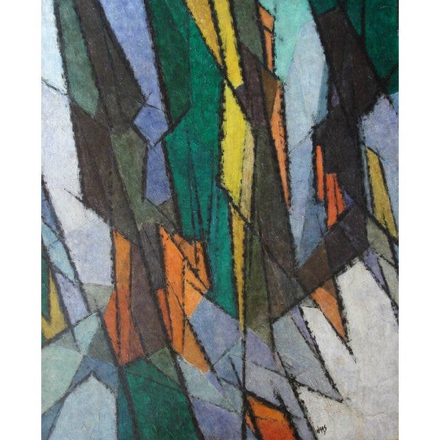 1960s Hildegarde Haas Abstract Painting - Image 1 of 4