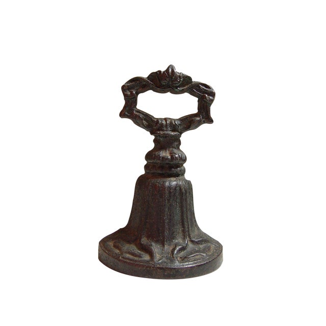 Antique English Kenrick & Sons Door Stop For Sale