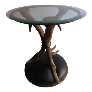 1930's Resin Antler Table For Sale