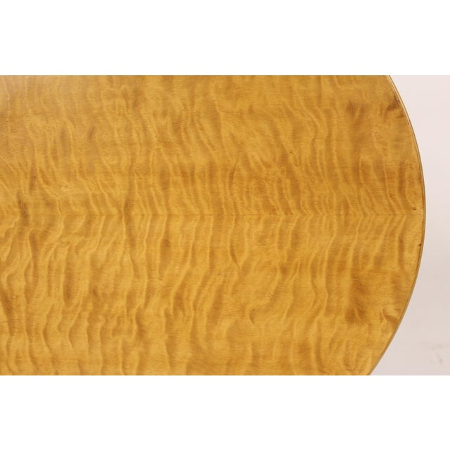 Biedermeier Style Oval Occasional / Center Table For Sale - Image 10 of 11