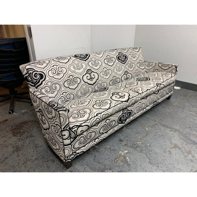 Asian A. Rudin Osborne & Little Fabric Custom #2612 Sofa For Sale - Image 3 of 12
