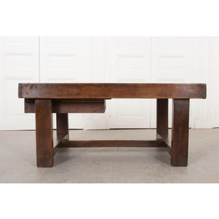 19th Century French Provincial Oak Low Table Preview
