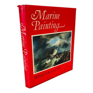 """1976 """"Marine Painting"""" First Edition Art Book For Sale"""