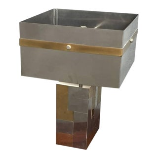 Paul Evans Style Table Lamp