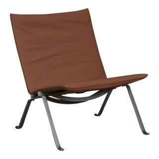 Poul Kjaerholm Pk22 Lounge Chair for E. Kold Christiansen For Sale