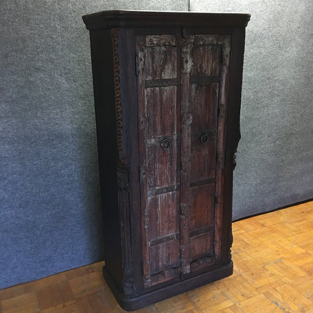 Handcrafted Tall Wooden Armoire by Buena Vista - Image 2 of 11
