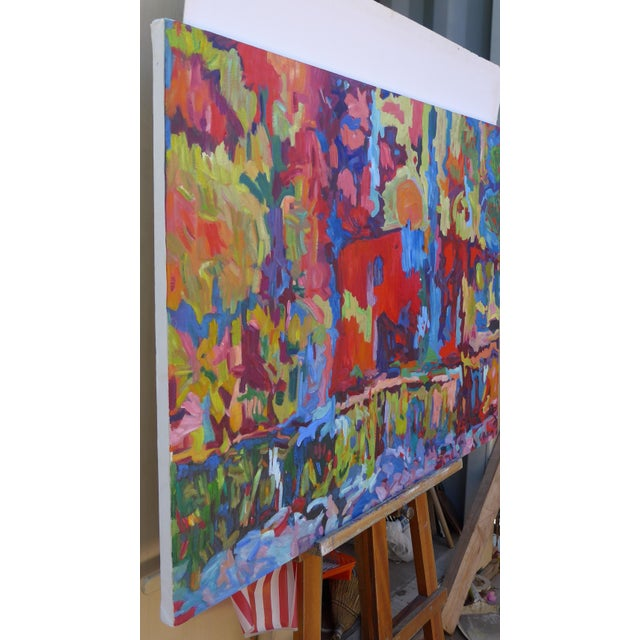 Monumental Abstract House Painting - Image 6 of 7