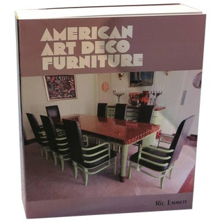 Ric Emmett American Art Deco Furniture Limited Edition Book For Sale