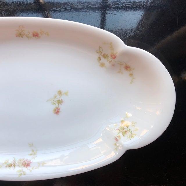 Cottage 1920's Antique Haviland Limoges Long Serving Tray Platter For Sale - Image 3 of 9