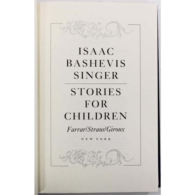 Stories for Children, 1st Edition Book by Isaac Bashevis Singer - Image 4 of 8