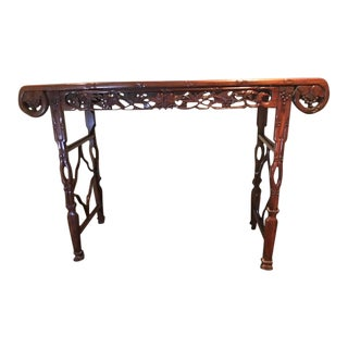 Chinese Carved Alter Table