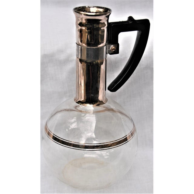 Mid-Century Inland Dorothy Thorpe Style Handblown Coffee Pot For Sale - Image 9 of 9