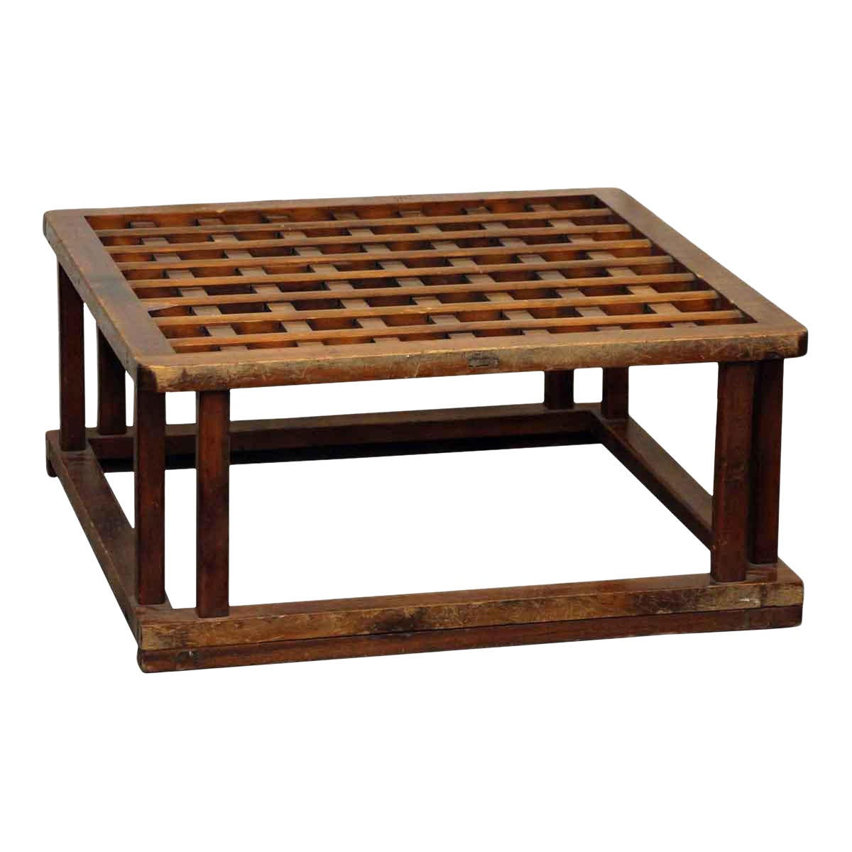Square Wooden Coffee Table Base Chairish