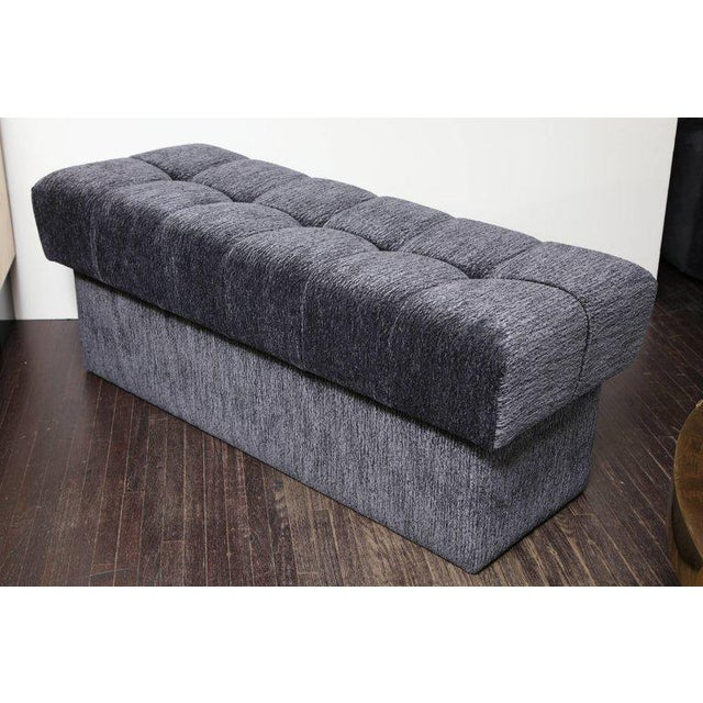Venfield Custom Tufted Bench with Interior Storage For Sale - Image 4 of 7