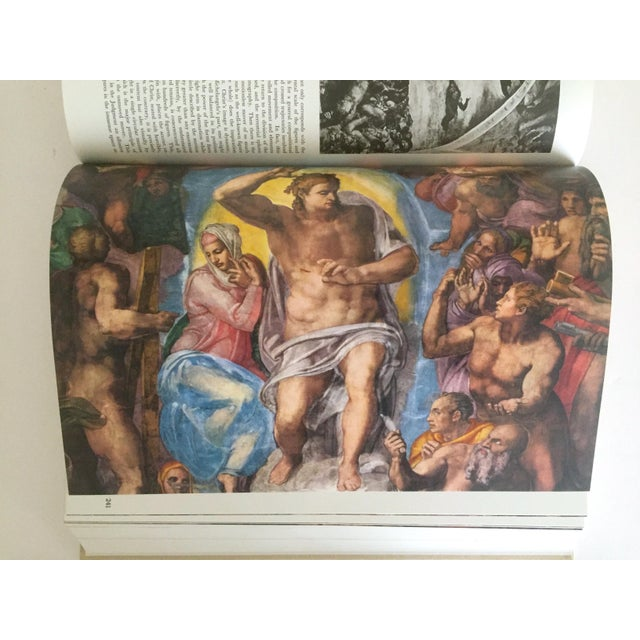 """""""The Complete Work of Michelangelo """" Slip Case Box Monumental Xtra Large Collector Vintage 1965 1st Edtn Book For Sale - Image 9 of 11"""