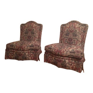 Baker Accent Chairs - A Pair