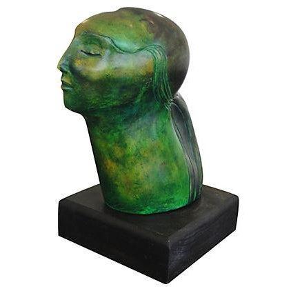 Porcelain Sculpture - Woman - Image 1 of 6