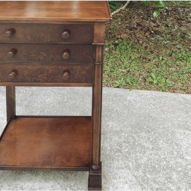 19th Century French Charles X Nightstand For Sale - Image 9 of 12