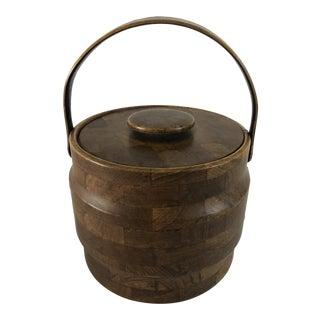 Midcentury Kraftware Ice Bucket For Sale