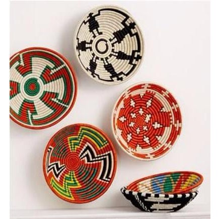 African Woven Basket - Image 5 of 6