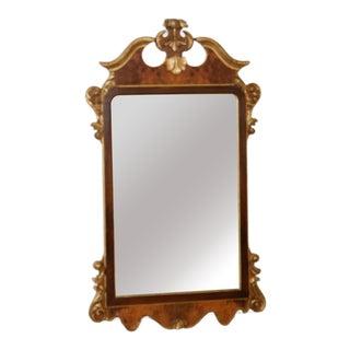 Vintage La Barge Articol N 1478 Carved Burlwood Gilt Mirror For Sale