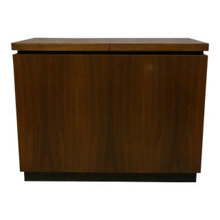 Mid Century Modern Milo Baughman for Dillingham Bar Cart For Sale