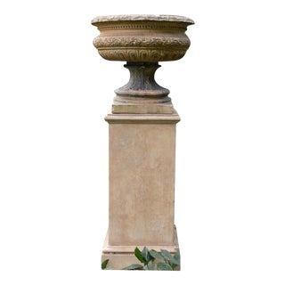 Spencer Swaffer Urn on Pedestal