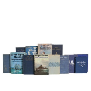 Vintage Evening Squall Nautical Book Set (S/20) Preview