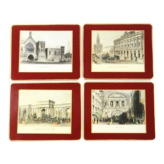 Old England Coasters - Set of 4