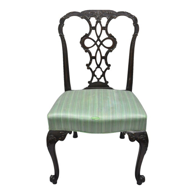 Super Antique Solid Mahogany Georgian Style Dining Chair Machost Co Dining Chair Design Ideas Machostcouk