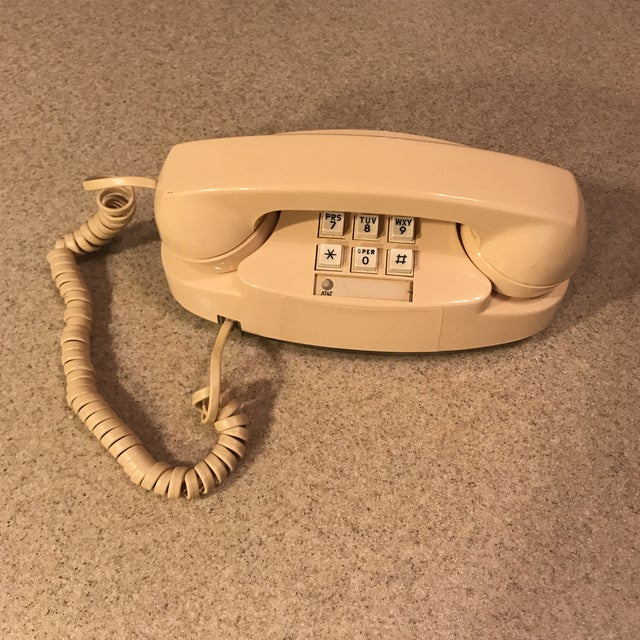 Ivory Western Electric Princess Push Button Phone - Image 3 of 11