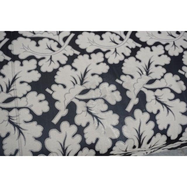 Tan Armani Casa Silk Fig Leaf Tuxedo Sofa For Sale - Image 8 of 10