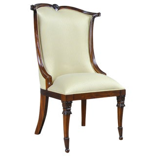 American Upholstered Side Chair For Sale